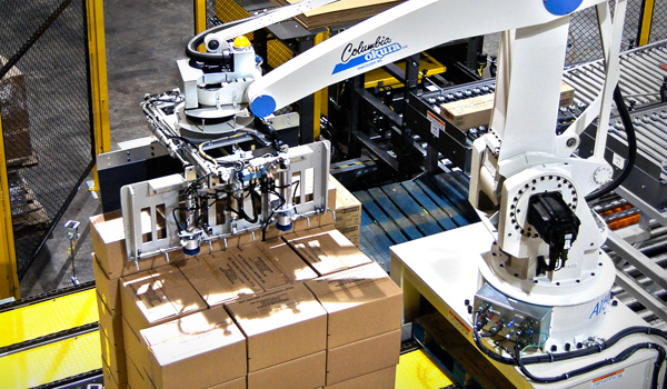 A-Series Robotic Palletisers